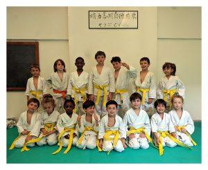 Judo Bambini: foto di gruppo