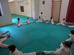 Judo Bambini: esercizi in gruppo