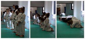 Judo Bambini: il saluto