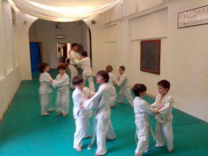 Judo Bambini: spostamenti a coppie